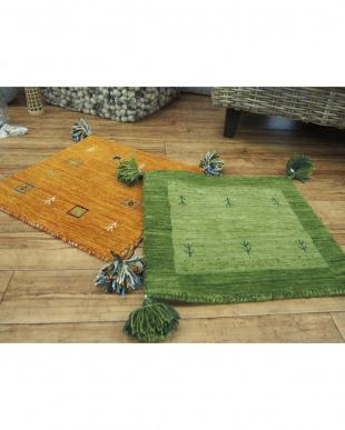 L4オレンジ  LORRI BUFFD  クッションカバー45×45cm見る