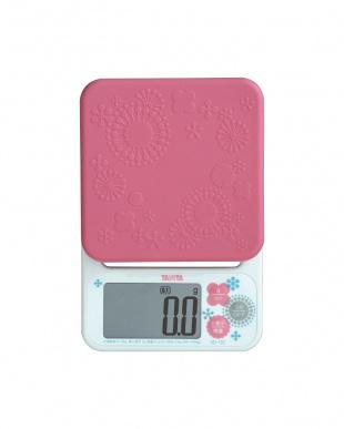 ピンク  デジタルクッキングスケール KD-192見る