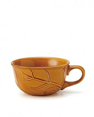 イエロー  Potte Leaf スープカップ 3Pセット見る