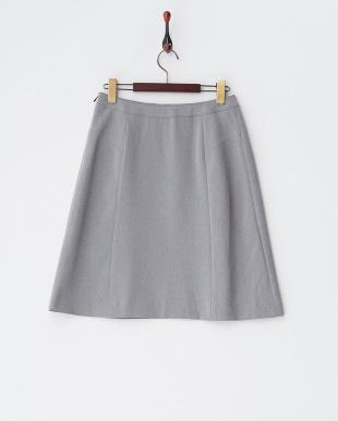 グレー  ウォッシャブル&ストレッチ&UVカット スカート見る