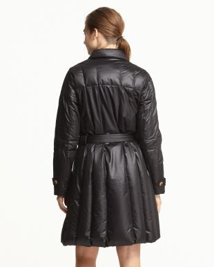 シレブラック Design Trench Down Coat見る