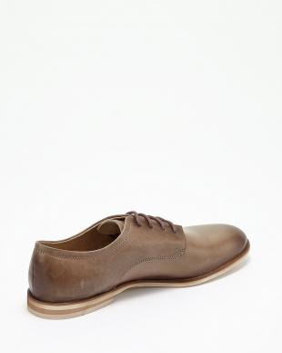 グレー  プレーントゥ短靴見る