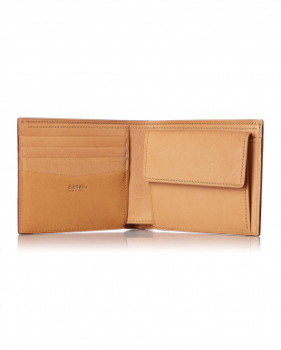 ブルー  アドバンレザー2つ折財布(札入)日本製見る