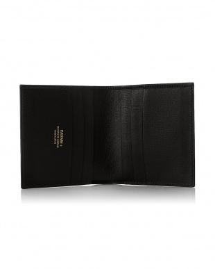 ブラック  2つ折財布(純札) MAISON de HIROAN見る