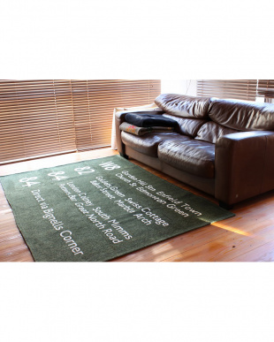 KHAKI  BUS STATION RUG 140_200見る