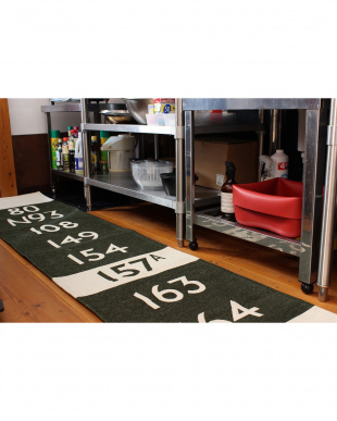 KHAKI  BUS KITCHEN MAT 50_240見る
