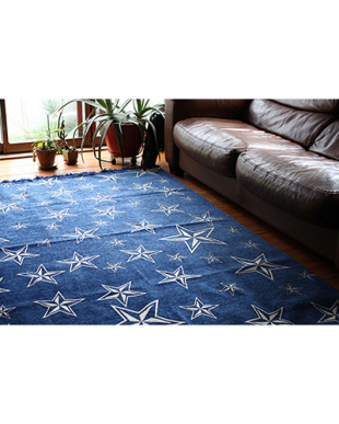RED  STAR RUG 200×200見る