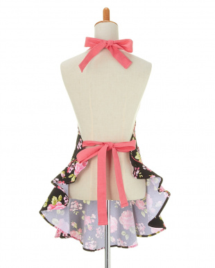 RETRO FLORAL PINK  Mary Jean apron見る