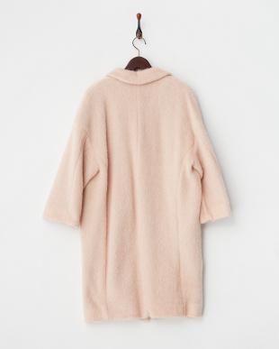 ピンク COPPIA シャギーコート見る