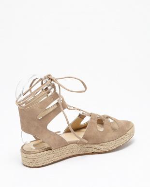 ブラウン  laceup sandals見る