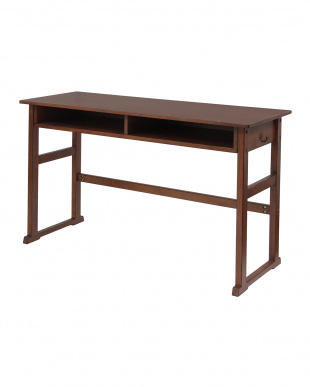 ブラウン School Desk2P 幅100cm|noteco見る