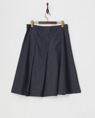 ネイビー CALA スカート見る