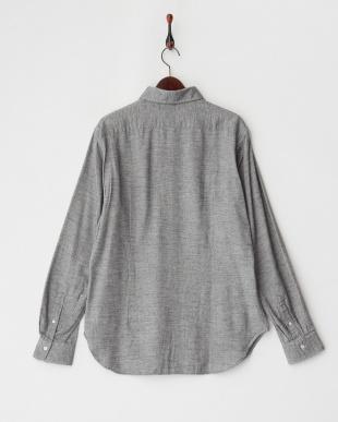 md.gray 起毛ボタンダウンシャツ見る