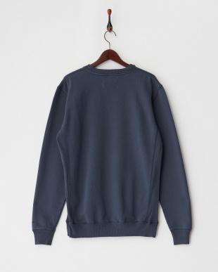 blue PATINA CREW スウェットシャツ見る