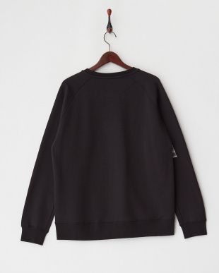 black プリントスウェットシャツ見る