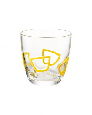 イエロー グラス6個セット見る