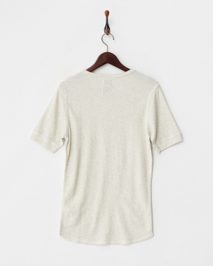 IVORY サーマル半袖Tシャツ見る
