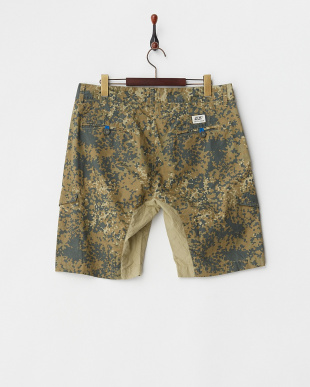 camo green camo half-pants見る