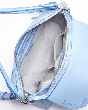 ライトブルー  オリヴィエ 2WAYバッグ見る