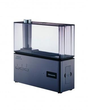 ガンメタリック  クレベリンLED搭載 超音波式加湿器見る