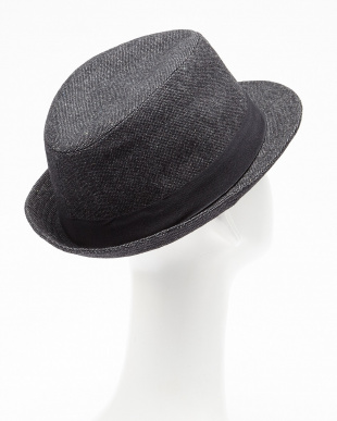 CHARCOAL.G  RU.NEP TWEED HAT見る