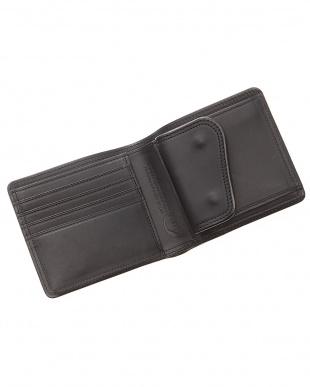 ブラック SLATE2つ折財布見る
