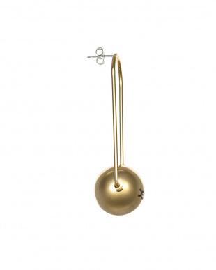 GOLD  BALL EARRINGS(ピアス)見る