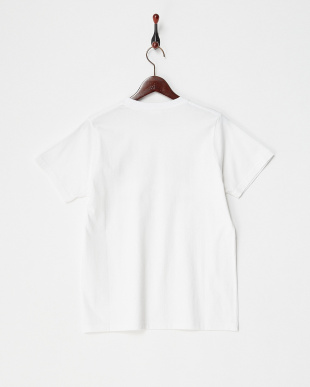 WHITE  EMBLEM S/S REGULAR TEE見る