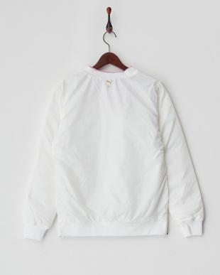 WHITE 防寒機能素材 パデッドVジャケット見る