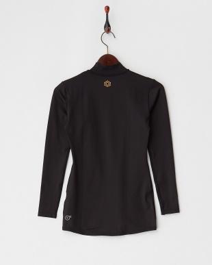 BLACK  吸汗速乾・UV ベア天 LS カラーインナーシャツ見る