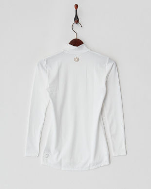 WHITE  吸汗速乾・UV ベア天 LS カラーインナーシャツ見る