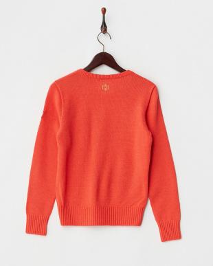 CAYENNE  ウール混ニットVネックセーター見る