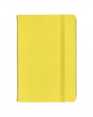 アニスグリーン/ターコイズ  Habana 10×15cm ゴムバンド付きノート 横罫 2冊セット見る