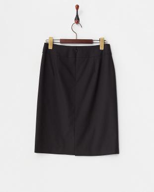 クロ  ストレッチタイトスカート見る