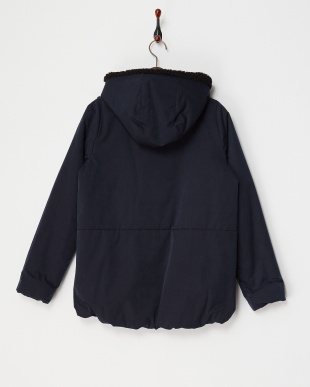 NAVY  SHERLING NYLON JACKET見る
