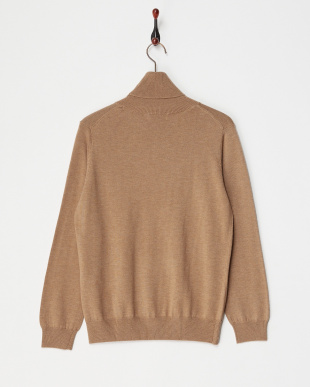 BROWN  TURTLENECK SWEATER見る