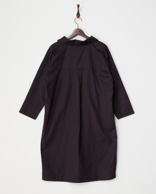 NAVY  BIG SHIRT DRESS見る