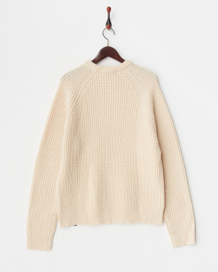 WHITE  KNIT TOP見る