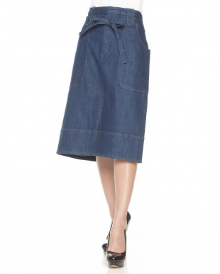 INDIGO DENIM SKIRT見る