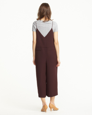 BURGUNDY JUMPSUIT 2見る
