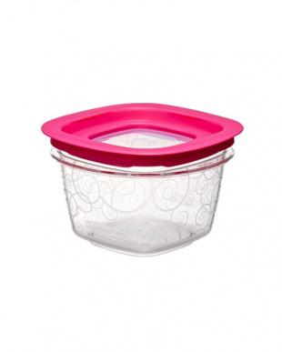 ピンク/パープル 食品保存容器12点セット見る