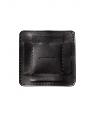 black  LEATHER TRAY S見る