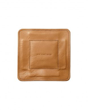 brown  LEATHER TRAY S見る