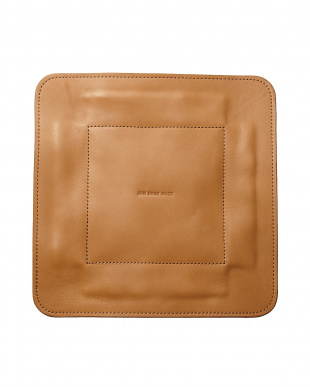 brown LEATHER TRAY L見る