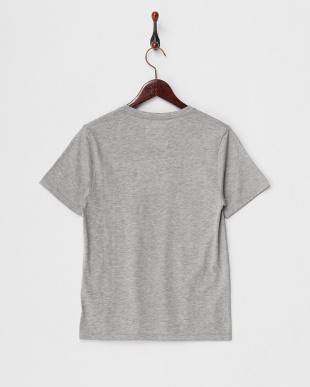 グレー  Tシャツ/スーピマ天竺見る