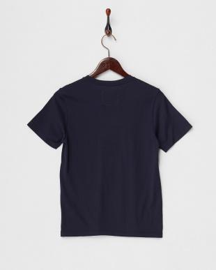 ネイビー  Tシャツ/スーピマ天竺見る