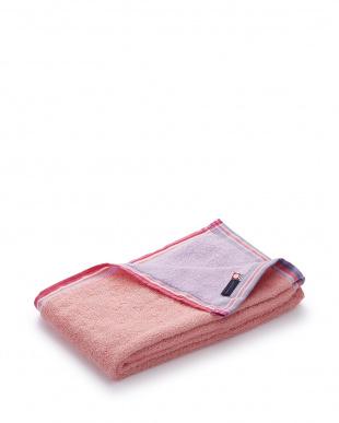 ピンク  スマートバスタオル見る