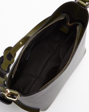 グレー  サークル装飾バッグ見る