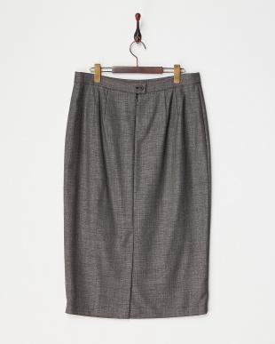 ブラック CENTRALE 切替スカート見る