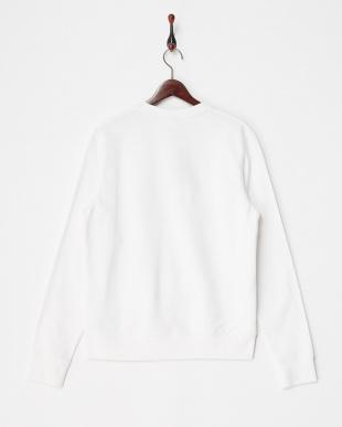 White  AF METL FOIL TRE SWET SMU スウェットシャツ見る